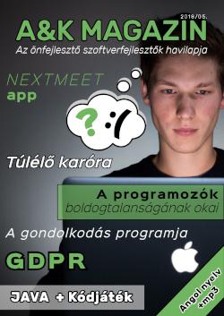 Májusi A&K Magazin szám