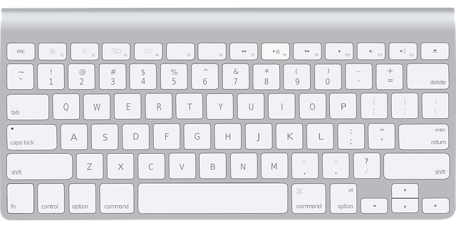 Kód írására billentyűzetet használhatunk.
