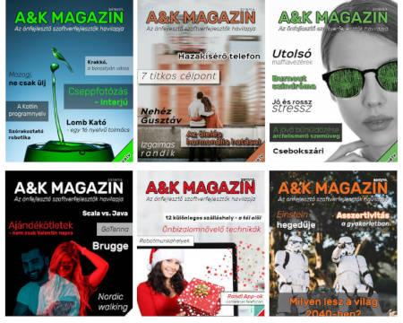 A&K Magazin borítók