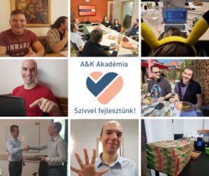 Java programozói karrier start csoport életképek az A&K Akadémián