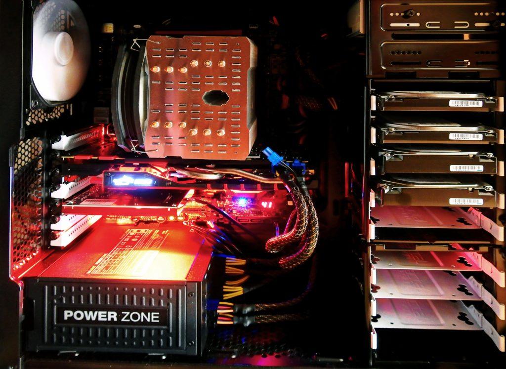 számítógép belülről